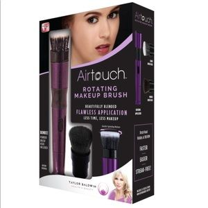 AirTouch Rotating Makeup Brush Set NEW